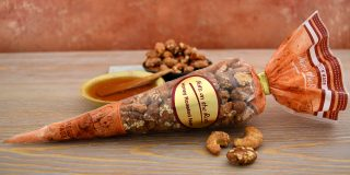 Honey Roasted Mixed Nuts Cone