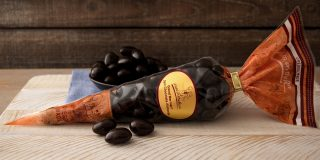 Grand Marnier® Dark Chocolate Almonds Cone