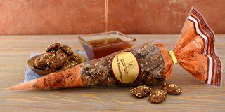 Honey Roasted Pecans Cone
