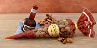Pom Cherry Nuts Cone