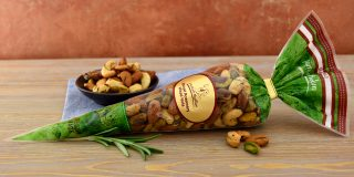 Rosemary Spiced Nuts Cone
